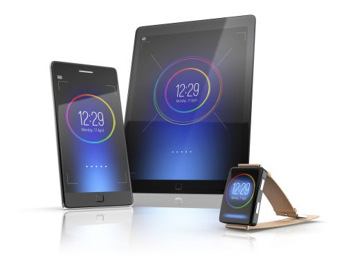 Application mobile tablet smartphone smartwatche